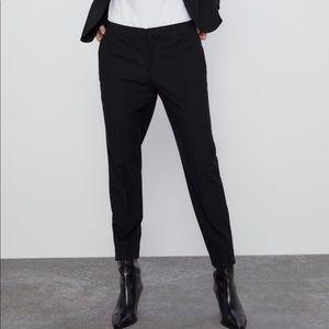 Zara basic ankle pants